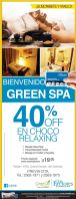 GREEN SPA promotionsv
