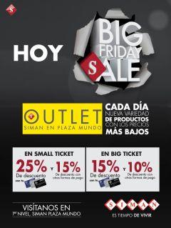 HOY big sale friday SIMAN outlet - 28nov14
