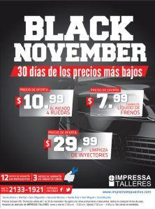 Impresa Talleres promotion BLACK NOVEMBER 14