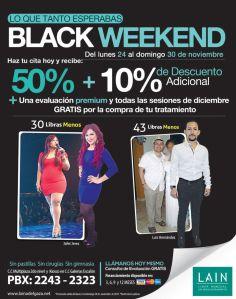 LAIN promocion black weekend - 24nov14