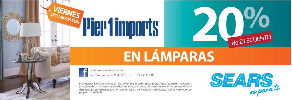LAMPARAS home ddecor pier 1 imports - 07nov14
