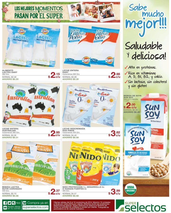 LECHE de soya SUN SOY saludable y deliciosa - 08nov14
