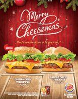 MERRY christmas burger king promotion - 06nov14
