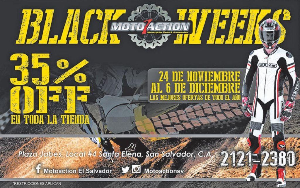MOtO ACTION accesories black weeks - 24nov14
