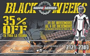 MOtO ACTION accesories black weeks - 24nov14