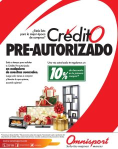 OMNISPORT preparate para november sale CREDTIO pre aprobado - 05nov14