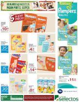 PAMPERS para bebes super precio - 21nov14