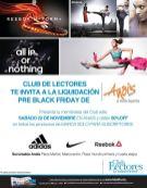 PRE Black Friday en tiendas ANAI deportes - 22nov14