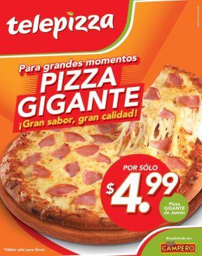 Promociones TELE PIZZA para grandes momentos - 11nov14