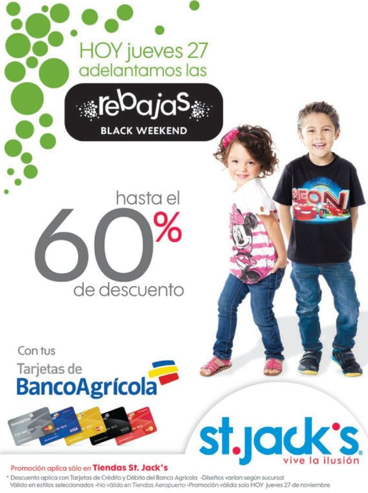 REBAJAS black weekend st jacks - 27nov14