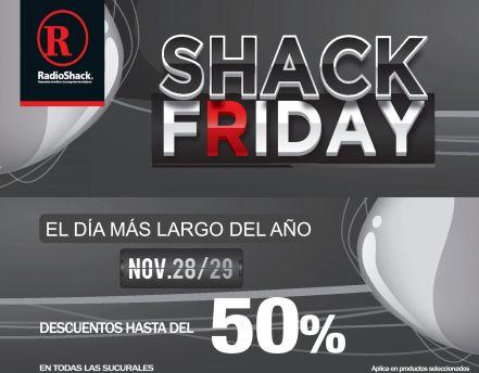 RadioSHACK descuentos SHACK FRIDAY 2014
