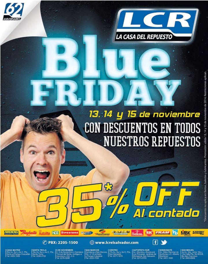 Respuestos LCR BLUE FRIDAY discounts - 13nov14