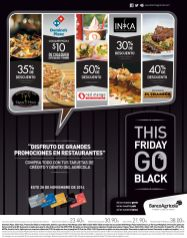 Restaurantes This FRIDAY go BLACK banco agricola - 27nov14