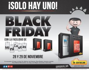 SOLO hay uno BLACK FRIDAY de la curacao - 24nov14