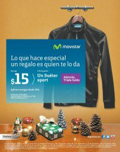 SUERTE sport gracias a MOVISTAR regalo navideño 2014