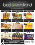Super Selectos BLACK WEEKEND super discounts - 28nov14