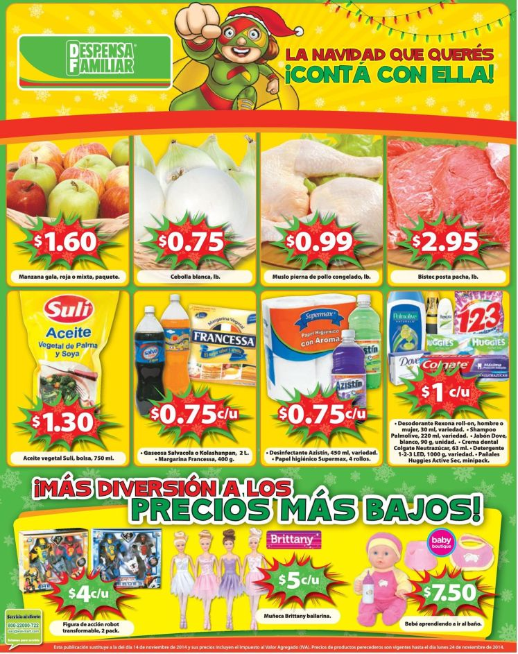 despensa familiar promociones del viernes - 21nov14