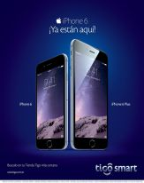 iPhone 6 ya esta aqui en TIGO SMART - 14nov14