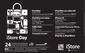iStore super promociones blaCK - 28nov14