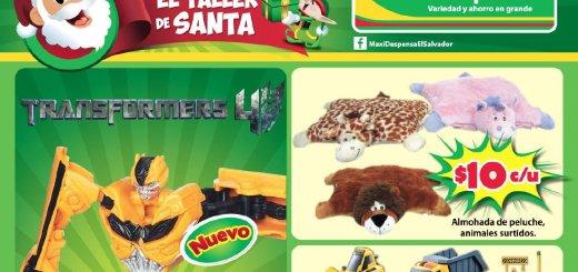 ofertas juguetes maxi despensa 2014