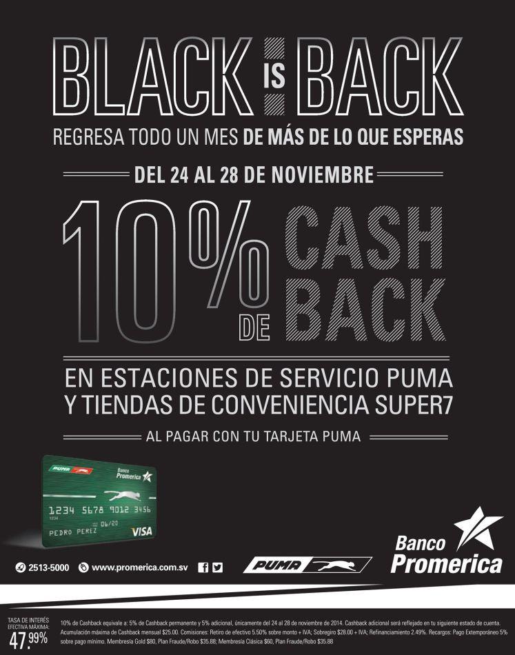 promocion BLACK en gasolia PUMA - 24nov14