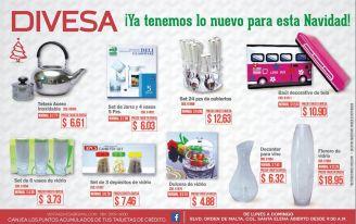 promociones DIVESA nuevos articulos para decorar tu navidad - 05nov14