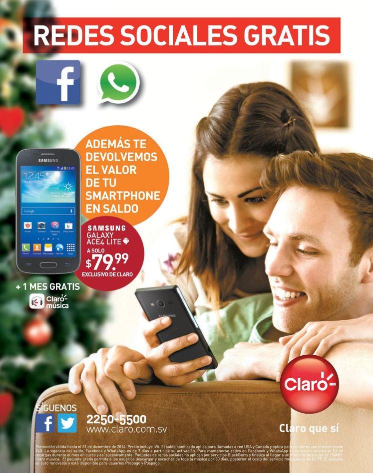 redes sociales gratis samsung galaxy ace4 lite