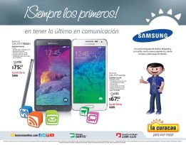 smartphones SAMSUNG galaxy NOTE 4 promotions and galax alpha