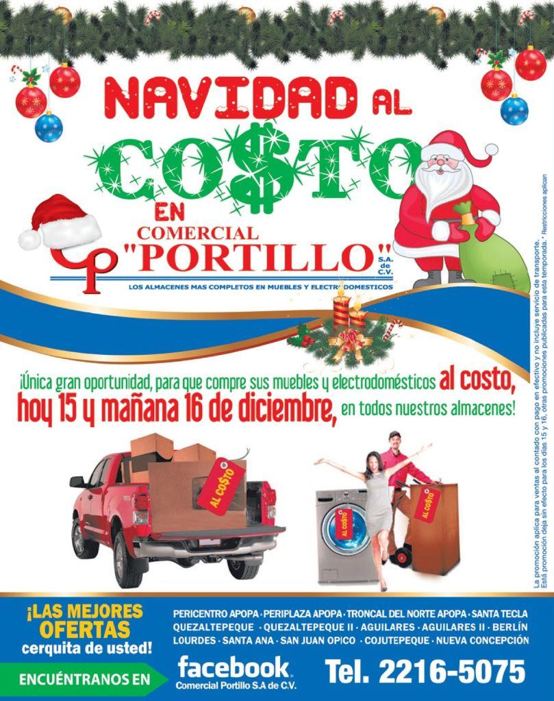 ATENCION compras al costo comercial PORTILLO - 15dic14