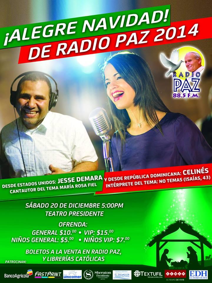 Alegra Navidad 2014 radio paz