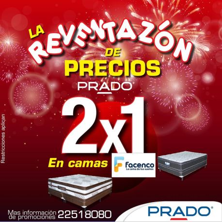 CAMAS facenoc 2x1 pomociones PRADO - 30dic14