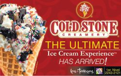 COLD STONE creamery the ultimate ice cream experience HAS ARRIVED at MULTIPLAZA