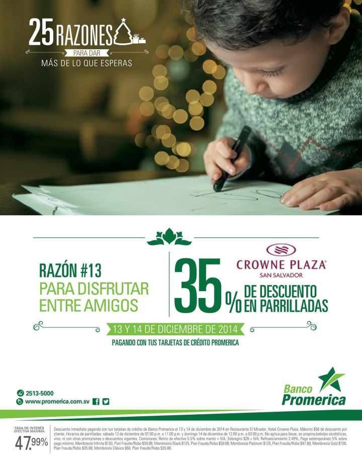 Crowne Plaza resort DISCOUTNS restaurant - 13dic14