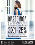 DIAS DE MODA promociones y descuentos Prisma Moda - 05dic14