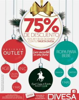 DIVESA new year promotins - 29dic14