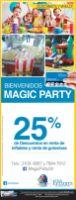 Descuento en MAGIC PARTY supply - 01dic14
