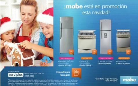 Electrodomesticos MABE promocion de navidad 2014