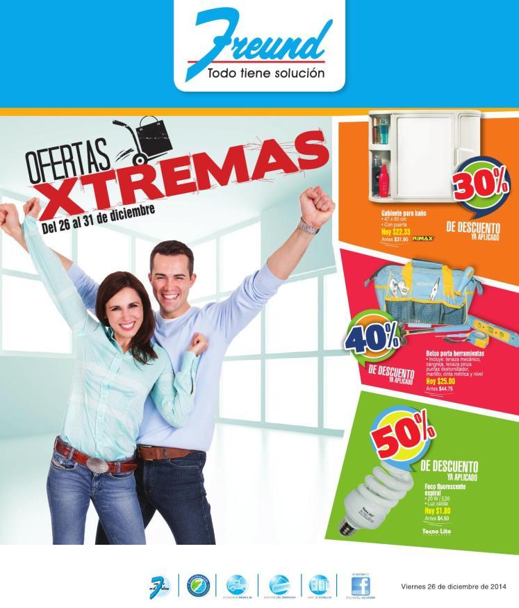 FREUND ofertas XTREME para finalizar el anio