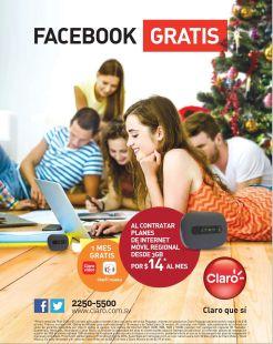 Facebook gratis con HOTSPOT internet claro - 24dic14