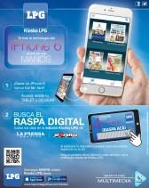 GANA un iPhone6 gracias a KIOSKO LPG