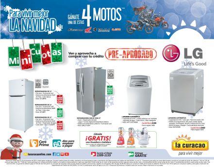 GRATIS licuadora o batidora por tus compras en LA CURACAO - 15dic14