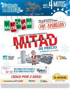 LA CURACAO articulos mitad de precios con MINI CUOTAS - 12dic14