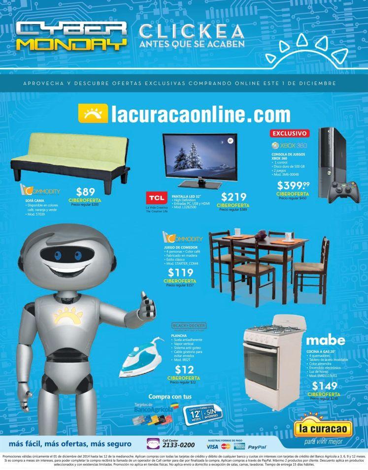 MUEBLES promociones online CYBER MONDAY la curacao - 01dic14