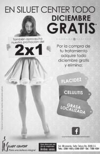 Mira tratamientos GRATIS contra flacidez celulitis grasa licalizada