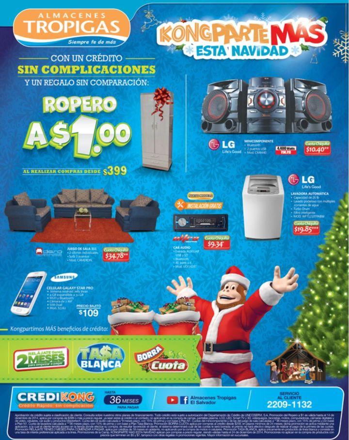 Ofertas electrodomesticos TROPIGAS - 12dic14