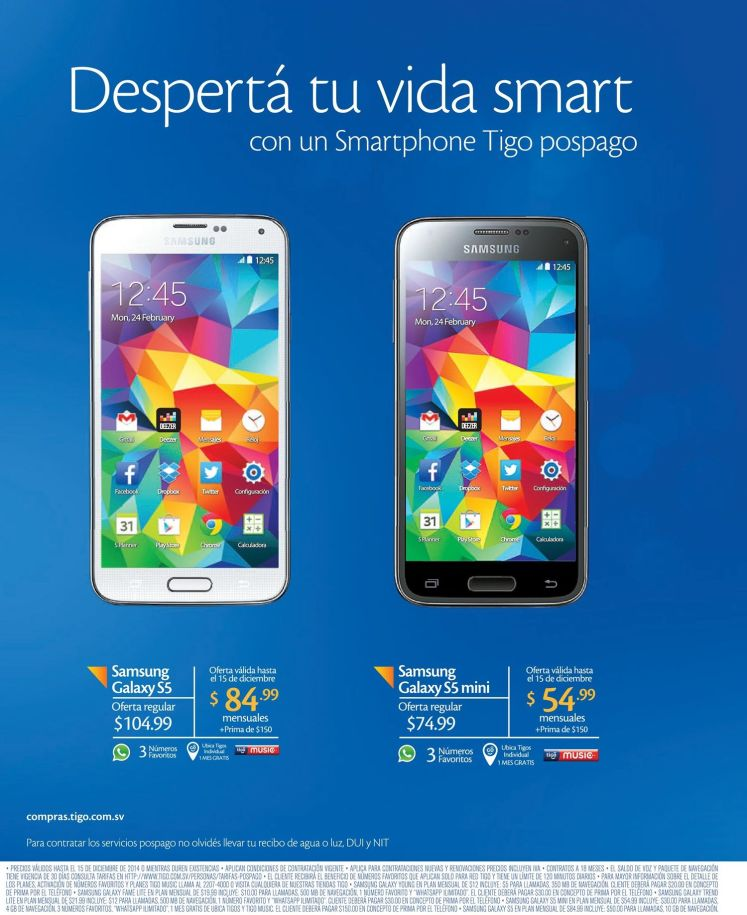 PROMOTION android samsung galaxy s5