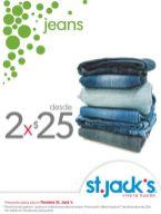 Promocion JEANS almacen ST JACKS - 05dic14
