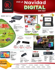 RADIO SHACK Promotion PLAY STATION 4 video game console - 15dic14