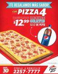 Recibe GRATIS Pepsi Cola por tu PIZZA HUT - 08dic14