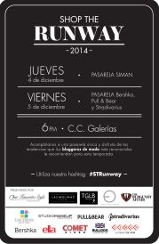 SHOP the RUNWAY fashion blogger event - 03dic14